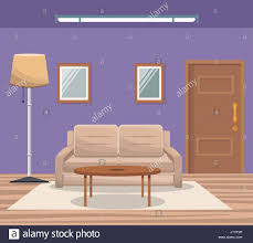 home interior vector rendering architecture stock vector images alamy