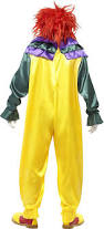 Halloween Clown Costumes Scary Amazon Smiffys Men U0027s Classic Horror Clown Costume Clothing