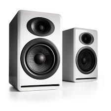Bookshelf Speaker Shelves Audioengine P4 Passive Bookshelf Speakers White Ap4w