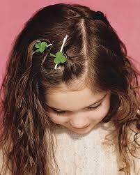 hair pin clover hair pin martha stewart