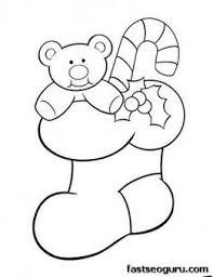 98 ideas christmas teddy bear coloring pages gerardduchemann