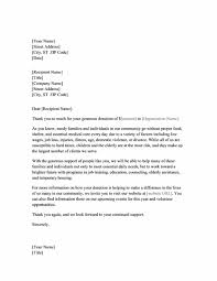 fundraising thank you letter office templates