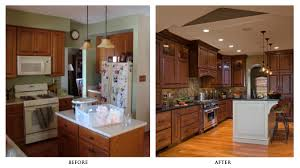 kitchen remodels before and after kitchens design