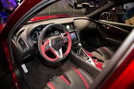 infiniti q50 interior infiniti q50 eau rouge concept previews a 500 hp sedan