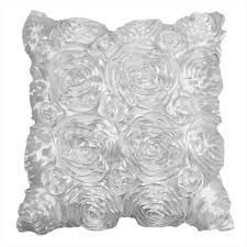 Rose Home Decor by Chic Satin Couch Cushion Cover Home Decor Sofa Throw Pillow Case