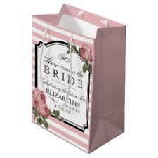 bridal shower gift bags bridal shower gift bags zazzle