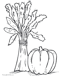 thanksgiving food coloring pages 012