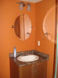 Orange Bathrooms Bathrooms Impressions Painting