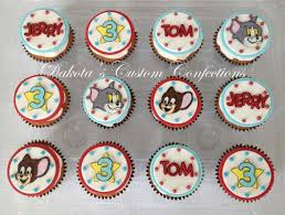 tom and jerry cake topper tom and jerry themed cupcakes cakecentral
