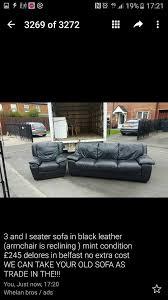 Second Hand Leather Armchair Gumtree Brown Leather Sofa Belfast Memsaheb Net