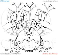 autumn coloring pages clipart