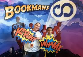 Superhero Photo Booth Bookmans Summer Kids Events Recap June 9 13 Bookmans