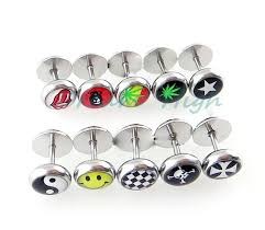 cool ear studs nose ring stud piercing fancy jewelry 200pcs lot