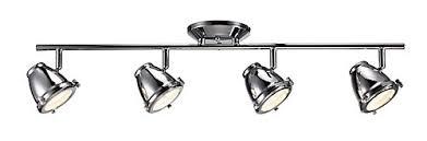 4 light led track lighting hton bay 4 light led directional track lighting kit the home