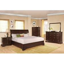 Bedroom Furniture Free Shipping by Fantastic 4 Piece Bedroom Furniture Set And Furniture Of America 4