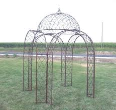 popular wrought iron patio gazebo garden landscape