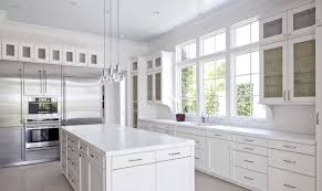 Glass Shelves Kitchen Cabinets Flat Front Kitchen Cabinets