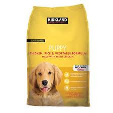 Kirkland Signature Chicken Rice and Ve able Puppy Food 20 lbs