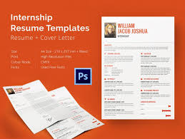 Resume Template In Word Format Internship Resume Template U2013 11 Free Samples Examples Psd