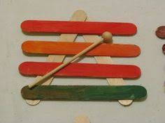 Musical Instruments Crafts For Kids - great way to show the kids wind instruments sound waves and
