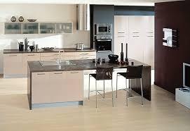 cuisine avec ilot central et coin repas cuisine avec ilot central arrondi maison design bahbe com
