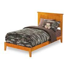 urban nantucket wood platform bed twin extra long size xl