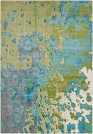 Turquoise And Gray Area Rug Surya Aberdine 2 U00272