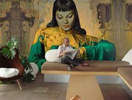 10 Living Room Designs With Unexpected Wall Murals Decoholic Mural Rachelblindauer Com Art Wall Decor Pinterest Wayne