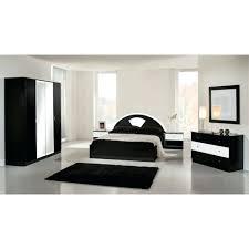 chambre a coucher complete adulte pas cher chambre complete chambre adulte laquace noir et blanc ecco chambre