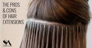 Pros And Cons Of Hair Extensions by The Pros U0026 Cons Of Hair Extensions Straight Ahead Beauty