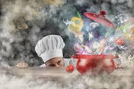 cuisine magique cuisine magique photo stock image du cuisinier culinaire 90008902