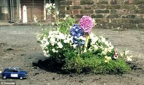 Flowersbybillbush Montreal Postal Code Map - that u0027s one way of filling in potholes guerrilla gardener fills
