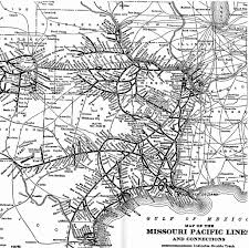 Union Pacific Route Map by Mopac