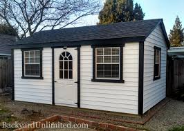 sheds a frame backyard unlimited 12x16 a frame shed with vinyl siding additional 30x36 slider windows and 11 lite fiberglass single door