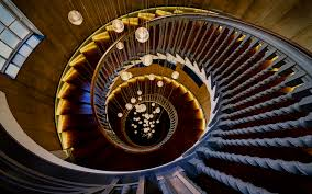 spiral staircase stairs hd wallpaper man made wallpaper better