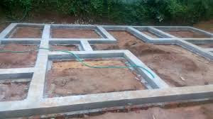 foundation work house construction 8 youtube