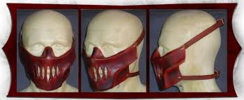leather mask hannible leather mask by onismithcreations on deviantart