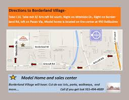 Map To Home Model Home Directions