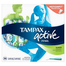 Most Comfortable Tampons For Swimming Tampax Pearl Active Super Absorbency Tampons 36 Count Target