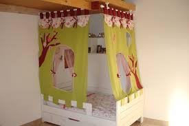 tente de chambre lit cabane tissu