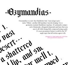 design lines font 20 best blackletter fonts design shack