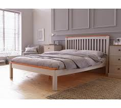 buy collection aspley small double bed frame two tone at argos