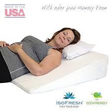best bed wedge pillow best wedge pillows for gerd acid reflux heartburn and snoring 2018