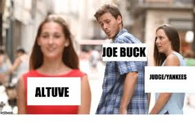 Joe Buck Meme - joe buck judgeyankees altuve new york yankees meme on sizzle