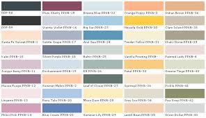Exterior Paint Chart - behr paints behr colors behr paint colors behr interior