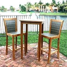 patio bar table set kaylaitsinesreview co