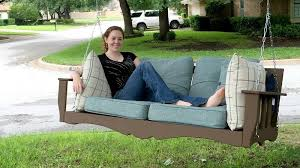 a diy hanging daybed plan for outdoors diy projects