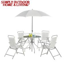 Patio Table Parasol by Outdoor Table Chair With Umbrella Outdoor Table Chair With