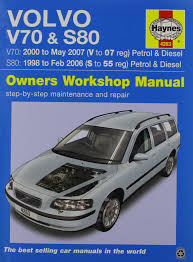 volvo v70 u0026 s80 service and repair manual 9780857339072 amazon