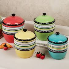 Glass Kitchen Canisters Sets by Kitchen 7 Decorative Kitchen Canisters Sets The With Regard To